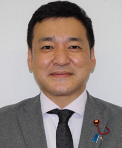 新澤 良文(高取町議会 議長)/顔写真